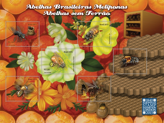 minifolha abelhas meliponas